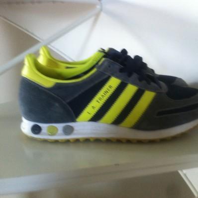 adidas trainer fluo
