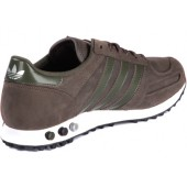 scarpe adidas la trainer marroni