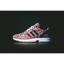 adidas zx flux fluorescente